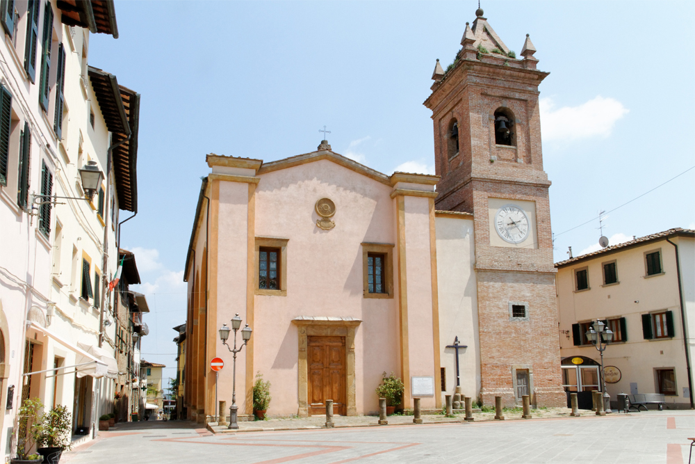 photoblog image Images of Tuscany - 7: Church of St. Regolo, Montaione