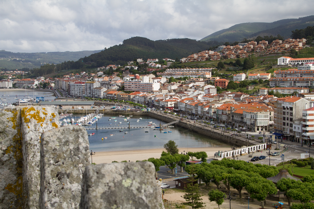 photoblog image Baiona - the town from the fortress