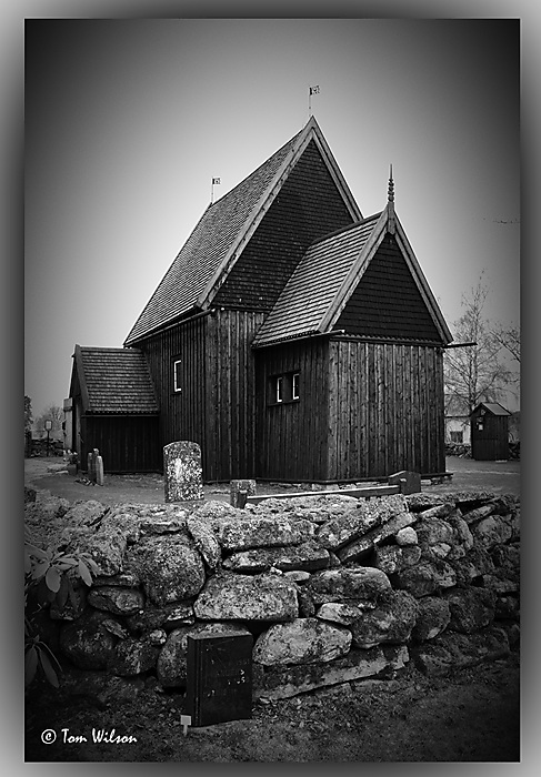 photoblog image Hedared stave church