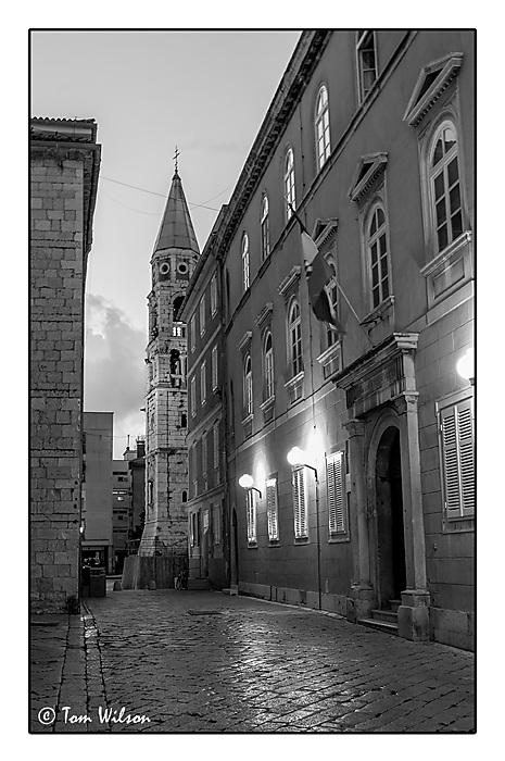 photoblog image Zadar  by night