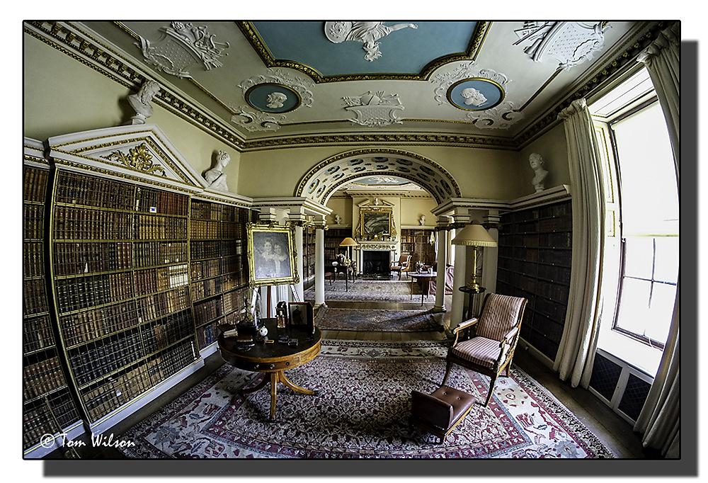 photoblog image Shugborough Hall - The Library