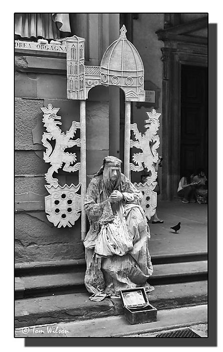 photoblog image Living Statue Florence