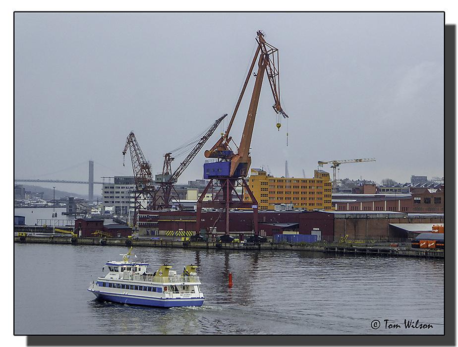 photoblog image Harbour Scene - Gothenburg