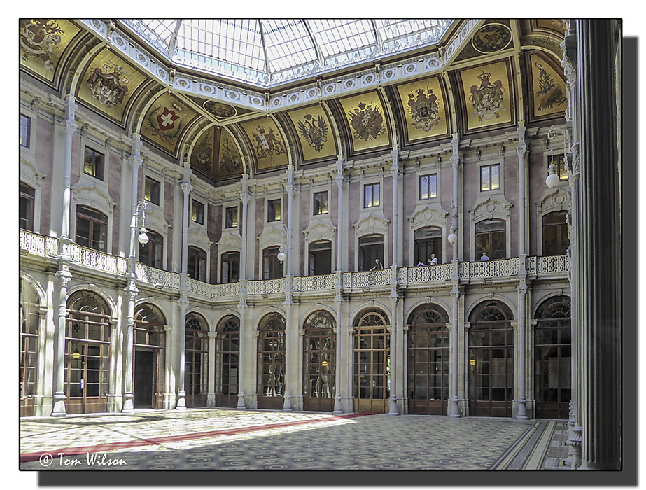 photoblog image Porto - Old StockExchange - Internal Courtyard