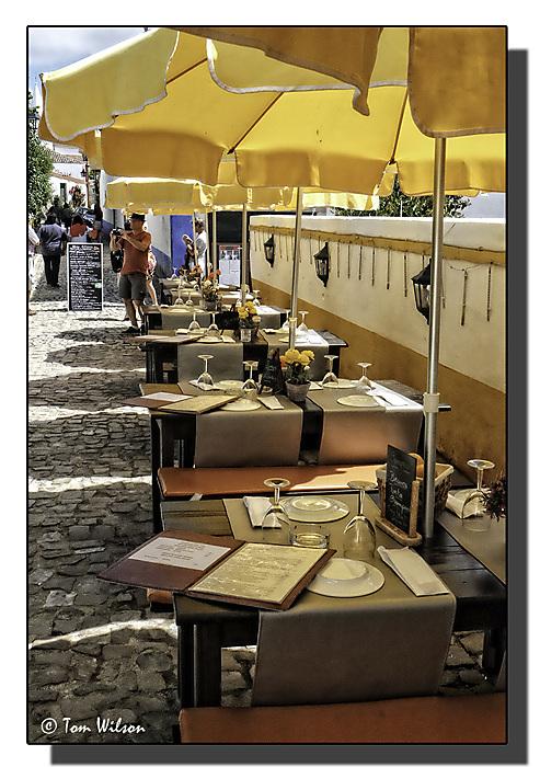 photoblog image Obidos - ready for business