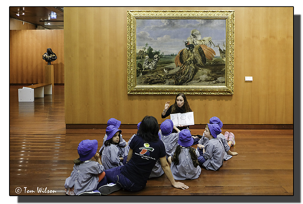 photoblog image Gulbenkian - Learning about art