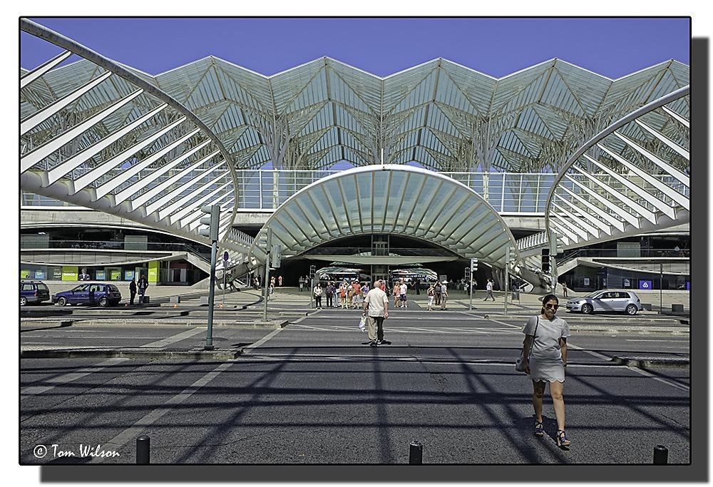 photoblog image Oriente Station, Lisbon
