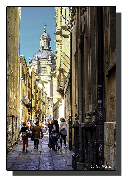 photoblog image Back to Salamanca