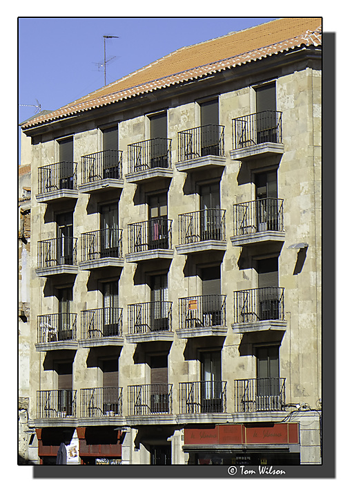 photoblog image Salamanca - a different facade