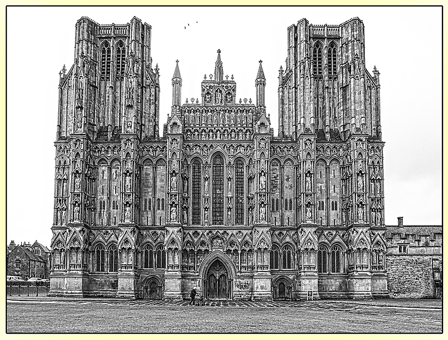 photoblog image Wells Cathedral