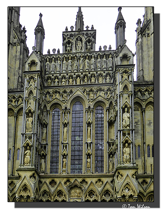 photoblog image Wells Cathedral - another close-up