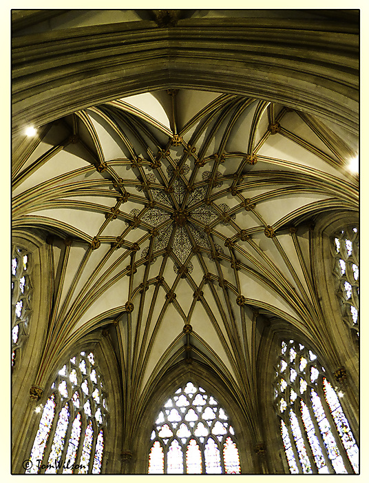 photoblog image Wells - Chapel ceiling