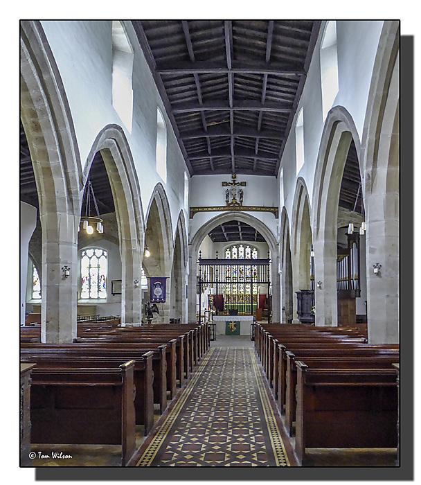 photoblog image St John the Baptist church, Newcastle.