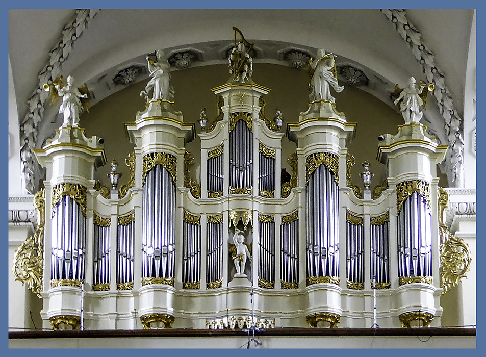 photoblog image The organ of Vilnius Cathedral