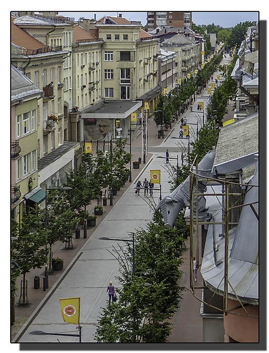 photoblog image Siauliai - main shopping street