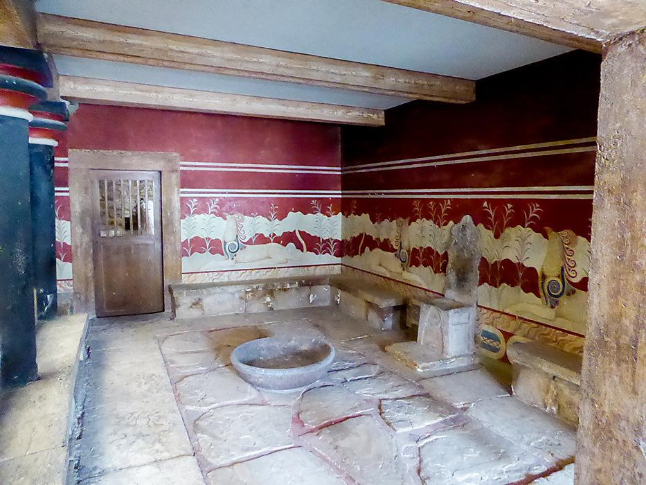 """photoblog image Knossos - """"Throne Room"""""""