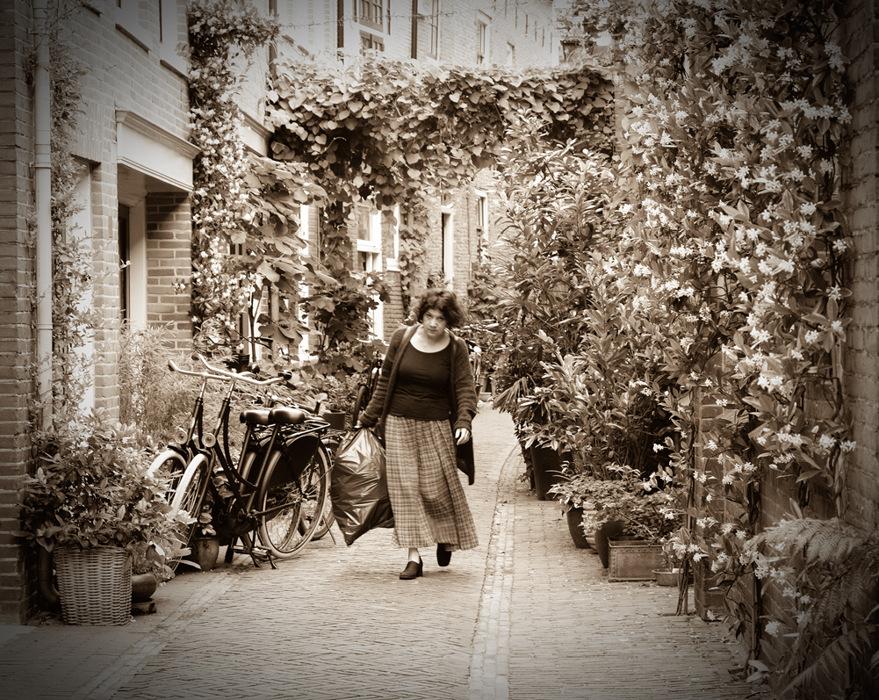 photoblog image Haarlem-street decor