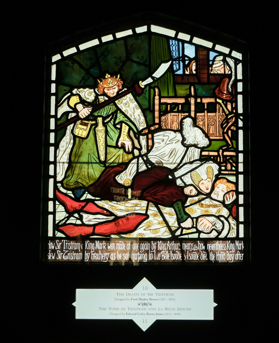 photoblog image Cliffe Castle Museum - Stained glass - 2